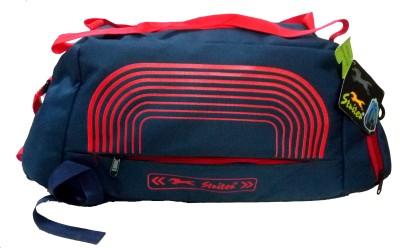 Striter Heavy Duty Canvas Gym Duffle Cum Sports Kit Bag   Red Gym Duffel Bag Red Striter Duffel Bags