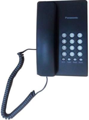 Panasonic KXTS400SX Corded Landline Phone (Black)