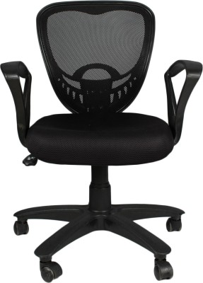 APEX CHAIRS Fabric Office Executive Chair(Black)