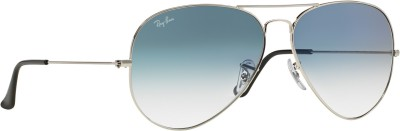Ray-Ban Aviator Sunglasses(Blue)