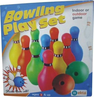 99Shoppy Bowling Target Multicolor Pack of9