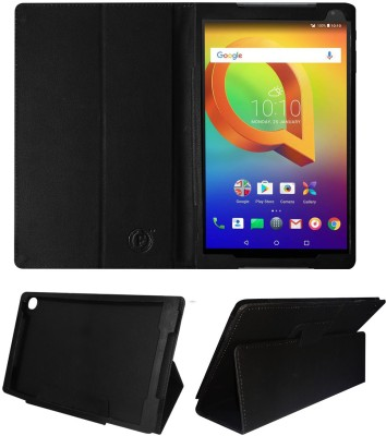 Fastway Flip Cover for Alcatel A3 10 10.1inch(Black, Cases with Holder, Artificial Leather)
