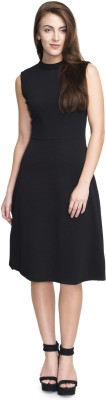 Addyvero Women A-line Black Dress