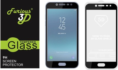 Furious3D Tempered Glass Guard for Samsung Galaxy J4(Pack of 1)