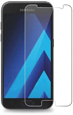Shopsji Tempered Glass Guard for Gorilla Glass, Screen Guard, screen protector, Samsung Galaxy A7(Pack of 1)