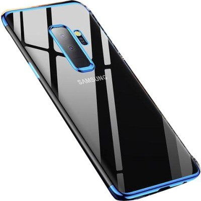 best sneakers a3f1d 42267 Sajni Creations Back Cover for Samsung Galaxy J8(blue, transparent,  Flexible Case)