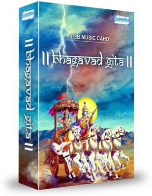 Music Card: Bhagavad Gita 320 Kbps MP3 Audio ( 8GB) ) Pendrive Standard Edition(Hindi - Ananta Nitai Prabhu / Rohan Kamat)  available at flipkart for Rs.699