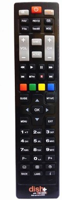 VBEST DTH5 TV Remote Controller Black