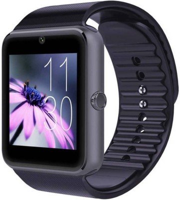 stark GT08 Black phone Black Smartwatch(Black Strap Regular) at flipkart