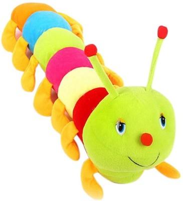 Arthr Beautiful Cute Colorful Caterpillar Soft Toy   55 cm   15 mm Multicolor Arthr Soft Toys