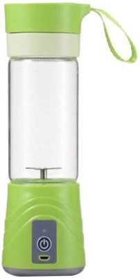 Hojo Mini Portable Mini 20 W Juicer(Green, 1 Jar)
