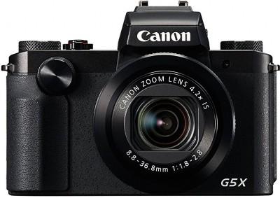 Canon PowerShot G5 X(20.2 MP, 4.2x Optical Zoom, 4.2 Digital Zoom, Black)