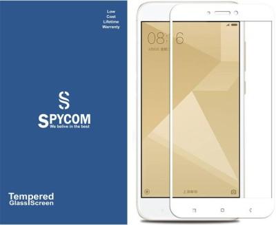 SpyCom Edge To Edge Tempered Glass for Mi Redmi 5A, Mi Redmi Go(Pack of 1)