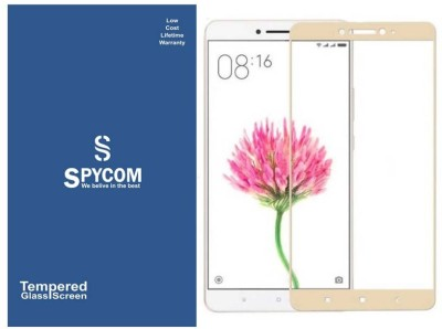 SpyCom Tempered Glass Guard for MI Max(full body cover Glass)(Pack of 1)