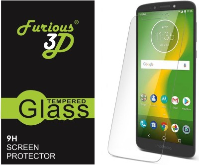 Furious3D Tempered Glass Guard for Motorola Moto E5(Pack of 1)