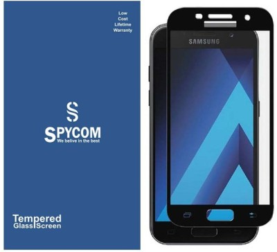 Spycom Tempered Glass Guard for Samsung Galaxy A7 2017(edge tp edge cover)(Pack of 1)