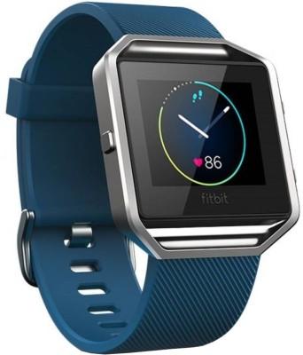 Fitbit Blaze Blue & Silver Smartwatch(Blue Strap Large) 1