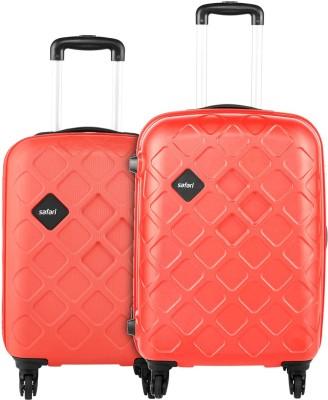 Safari MOSAIC 55/65 4W SCARLETT RED Cabin   Check in Luggage   26 inch Safari Suitcases
