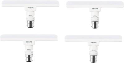 Philips 8W B22 T-BULB Straight Linear LED Tube Light(White, Pack of 4)