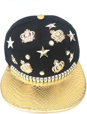 Tiny Seed Solid, Self Design, Embellished skull, Hip Hop, Baseball, Snapback, Trucker, Sports, Cap for men and women Cap