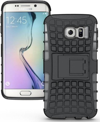 S-Design Book Cover for Samsung Galaxy S6 Edge Plus(Black)