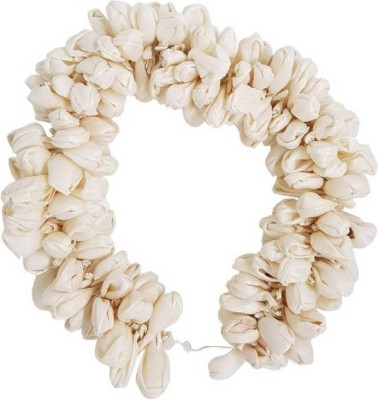 Majik Artificial Hair Flower Gajra / Veni Hair Accessories For Women Bun (White) Bun(White) Flipkart