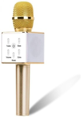 Clairbell LOY_438L_Q7 MIC mi Portable Wireless Karaoke Handheld Condenser Inbuilt Speaker Microphone with||So Best and Quality Compatible with all your devices (samsung, Oppo, Vivo, Gionee, Xiomi, Sony, Philips, Motorola) Microphone
