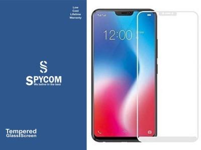 SpyCom Edge To Edge Tempered Glass for Vivo V9(Pack of 1)
