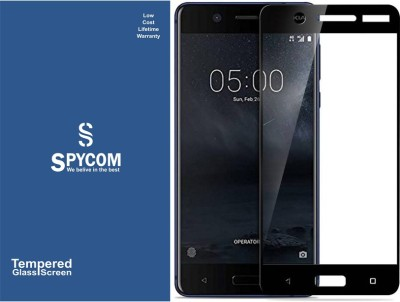 SpyCom Edge To Edge Tempered Glass for Nokia 5(5D Tempered)(Pack of 1)