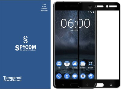 SpyCom Edge To Edge Tempered Glass for Nokia 6(Full Glue 5D Tempered glass)(Pack of 1)