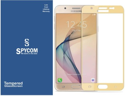 SpyCom Tempered Glass Guard for Samsung Galaxy J5 Prime(edge to edge cover tempered glass)(Pack of 1)