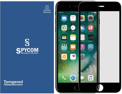 SpyCom Edge To Edge Tempered Glass for Apple Iphone 6 Plus/ 6s Plus(Full Glue 5D Tempered glass)(Pack of 1)