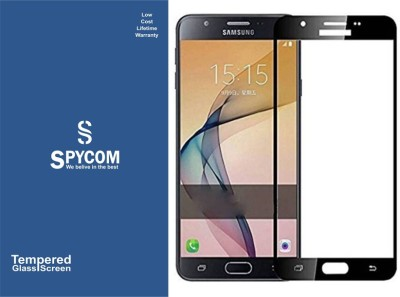 SpyCom Edge To Edge Tempered Glass for Samsung Galaxy J7 Prime(Pack of 1)