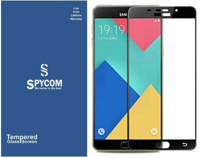 SpyCom Tempered Glass Guard for Samsung Galaxy A9 2016/A9 Pro(edge to edge cover tempered glass)(Pack of 1)