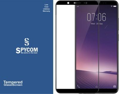 SpyCom Edge To Edge Tempered Glass for VIVO V7 Plus(Pack of 1)
