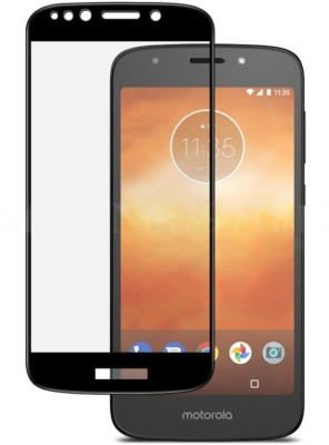BlackBug Tempered Glass Guard for Motorola Moto E5 Plus (Black) Screen Protector,Screen Guard,(Clear HD) 0.3mm, 2.5D
