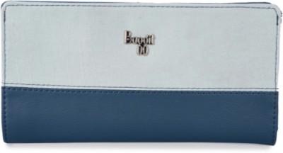 Baggit Women Blue Artificial Leather Wallet(6 Card Slots)