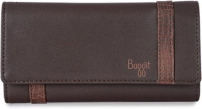 Baggit Women Brown Artificial Leather Wallet(6 Card Slots)