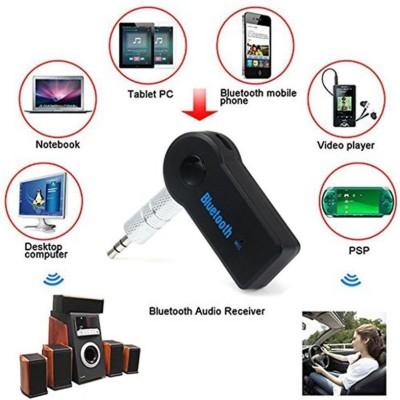 teleform v3.0 Car Bluetooth Device with Audio Receiver(Black)