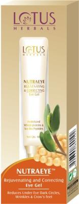 Lotus Herbals Rejuvenating and Correcting Eye Gel Nutraeye 10gm