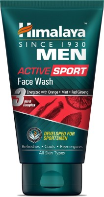 Himalaya Men Active Sport Face Wash 100ml