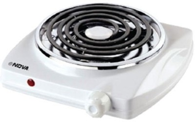Nova NH-3410-1 Induction Cooktop(White, Push Button) at flipkart
