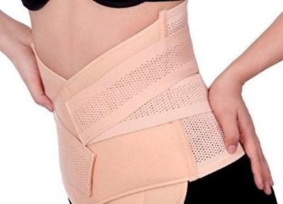 Baby Bucket Women's Post Pregnancy Waist Shape Corset Belt (Light Pink)(Off White)