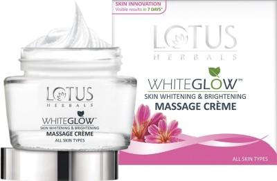 LOTUS HERBALS White Glow Skin Whitening & Brightening Massage Creme(60 g)