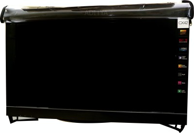 Aditya Television accessories for 32 inch LED TV  - TRANSPARENT COVER WITH DUAL ZIPPER(Black)  available at flipkart for Rs.999