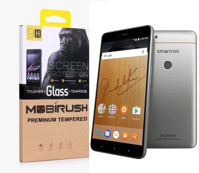 MOBIRUSH Tempered Glass Guard for Smarton Srt Phone(Pack of 1)