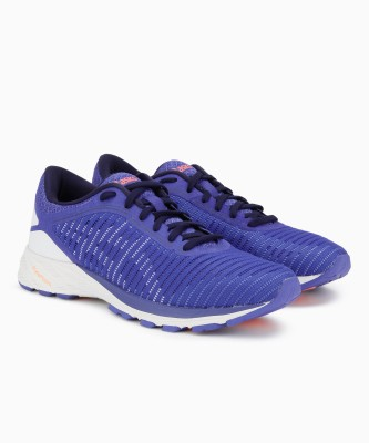 Asics DynaFlyte 2 Running Shoes For Women(Purple) at flipkart