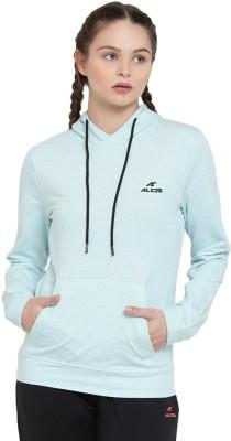 Alcis Full Sleeve Solid Women Sweatshirt at flipkart