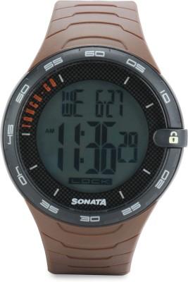 Sonata 77041PP02J Digital Watch (77041PP02J)