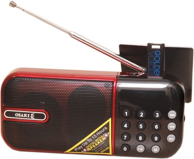Osaki PORTAPLAYERR PLUS SAI BABA 4  GB MP3 Player Red, 4 Display Osaki Media Players